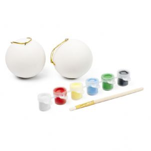 Paint Your Own Bauble Kit